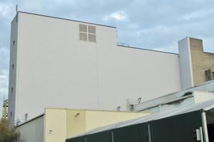 Die fertiggestellte Fassade. Die Dauerhaftigkeit der Sanierung wird durch einen Instandhaltungsplan gewährleistet