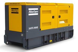 Der XATS 900E liefert Druckluft von 7 bis 10 bar (100 bis 150 psi) mit einem Volumenstrom von bis zu 25 m3/min (900 cfm). (Bild: Atlas Copco)