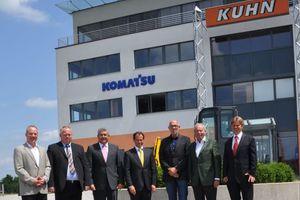 Agieren in Zukunft gemeinsam:Kuhn-Gruppe und Topcon Positioning