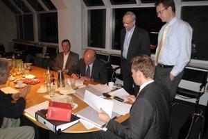 """Unterzeichnung des neuen Kooperationsvertrags zwischen ITI und Per Aarsleff in Hamburg<span class=""""bildunterschrift_hervorgehoben"""">Foto: Insituform</span><br />"""