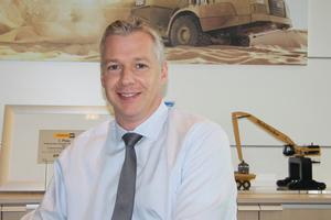 Fred Cordes, Geschäftsführer Vertrieb, Zeppelin Baumaschinen GmbH