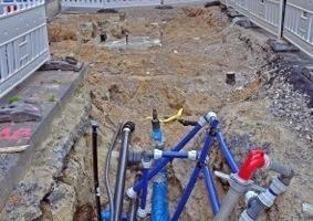 Erneuerung von Grund auf: Rund um den Marienplatz in Münster wurde die gesamte unterirdische Infrastruktur erneuert<br />