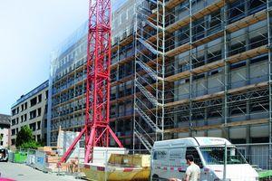 Bei der komplexen Sanierung und vielfältigen Umbauarbeiten an diesem Wohngebäude in der Museumstraße in Wintherthur, Schweiz, setzte die BWT Bau AG die Handschalung AluStar aufgrund ihrer Flexibilität und Robustheit ein.