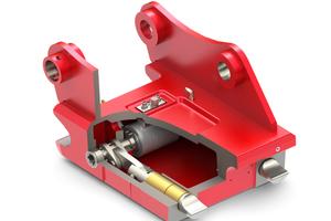Der Lehnhoff SW1615 SQH: Die hydromechanische Ausführung kombiniert hydraulischen Aktuator mit mechanischer Totpunktverriegelung.