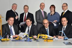 Das GEFA-Bauteam: Im Außen- und Innendienst spezialisiert auf Finanzierungen für die Baubranche