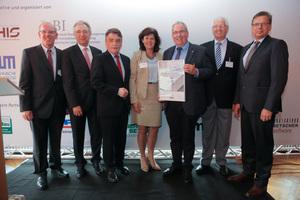 Sieger in der Kategorie Hochbau (gU): Die Unternehmensgruppe Bernhard Heckmann aus Hamm konnte sich in der Kategorie Hochbau knapp gegen sehr starke Konkurrenz durchsetzen.