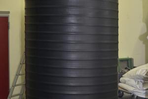 BU:<br />PKS-D 1500 kurz nach der Fertigstellung im Kunststoffwerk Steinhagen. Die Betonabdeckung gehört mit zum Lieferumfang<br /><br />
