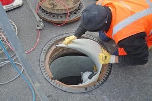 Die vorsorgliche Sanierung wurde schichtweise und in exakt aufeinander abgestimmten Prozessabläufen durchgeführt.