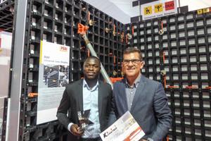 """Die Universalschalung Peri Duo ist der Gewinner der """"Best Innovation Product Award"""" Kategorie auf der """"Kostroi Angola 2016."""