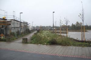 Vor Baubeginn war das Zentrum des zukünftigen Neubaugebietes einfach unfreundlich<br /><br />