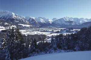 So schön kann Oberstdorf im Winter sein<br />