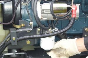 Auch der Treibstofffilter sollte regelmäßig überprüft werden<br />