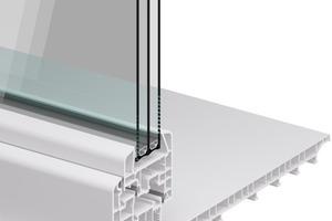 Dank Dreifachverglasung, modernen Profilen und Mitteldichtung erzielt das ACO Therm 3.0 Leibungsfenster Dämmwerte auf Wohnraumniveau. Die aufwendige Verzahnung des Fensterrahmens sorgt für sicheren Halt in Beton und Mauerwerk.