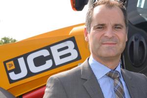 Frank Zander, Geschäftsführer JCB Deutschland<br />