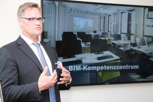 Stefan Hohnen – Leiter Kundenberatung, BIM-Management, Projektentwicklung, Projektcontrolling bei BIB GmbH (Bild: BRZ Deutschland)