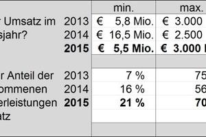 Abb. 4: Umsatz im Geschäftsjahr 2013