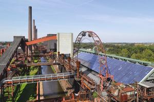 """Rund 1000 Menschen arbeiteten in Spitzenzeiten in der Kokerei Zollverein. 2001 wurde die Industrieanlage in die <span class=""""bildunterschrift_hervorgehoben"""">UNESCO-Welterbeliste</span> aufgenommen<br /><br />"""